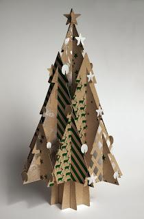 Alberi di Natale in cartone - Remo De Medici