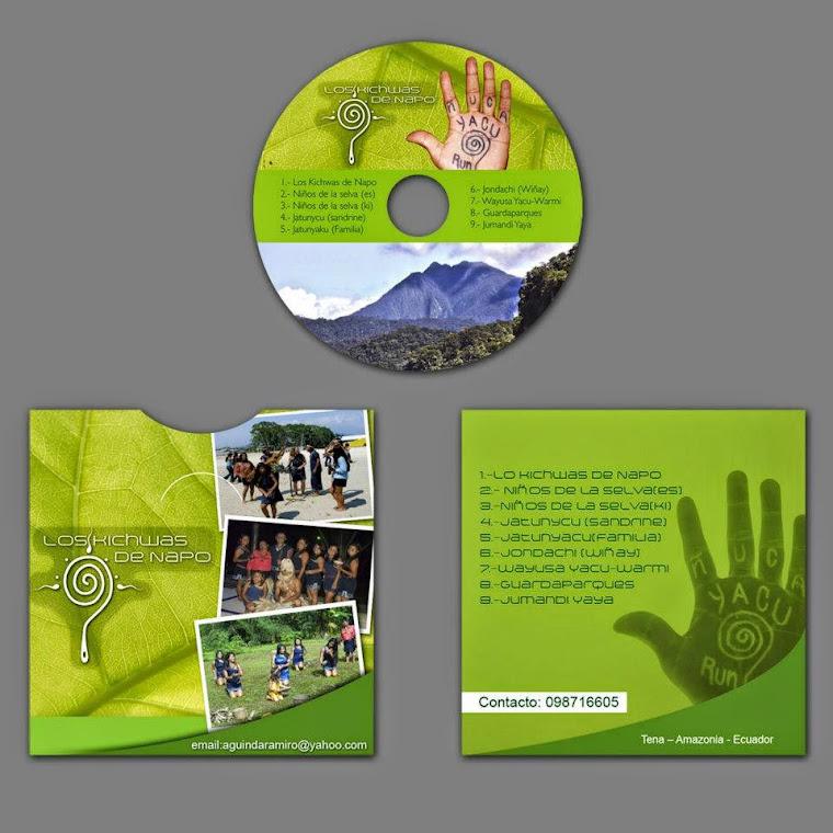 Nuestro primer CD de música kichwa
