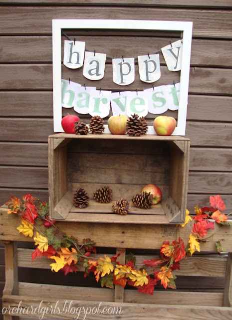 Happy Harvest DIY Project - Fall Decor