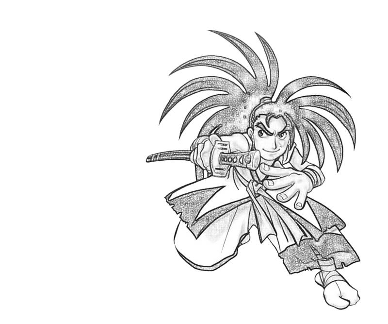 haohmaru-chibi-coloring-pages