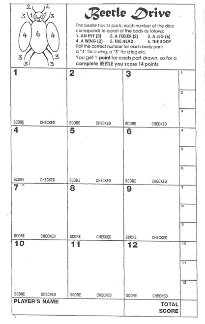 A Beetle Drive Casterton WI: Programm...