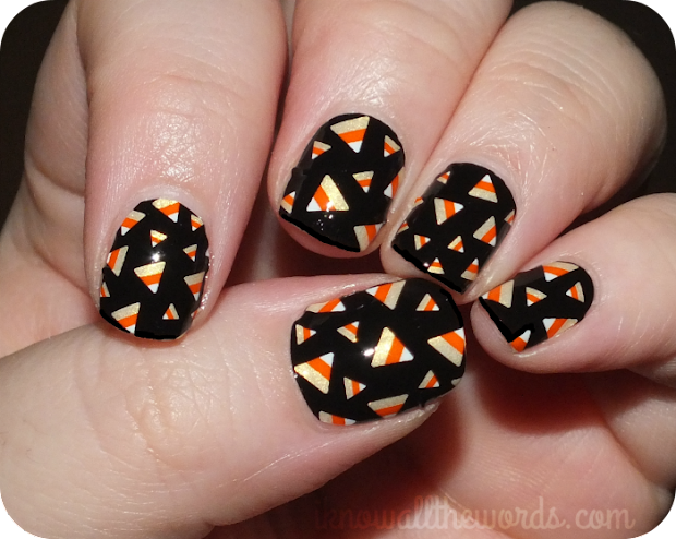 halloween notd- crazy candy