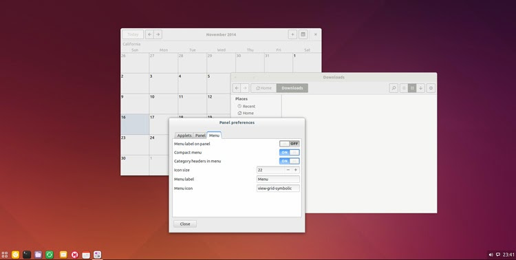 Budgie Desktop no Ubuntu