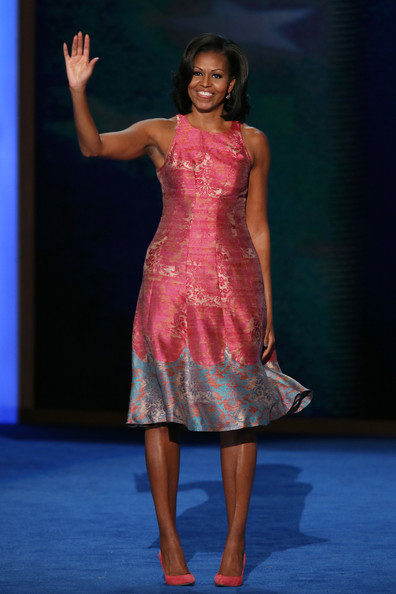 Michelle Obama à Tracy Reese