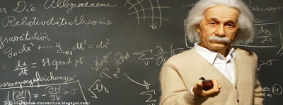 Couverture facebook timeline Einstein