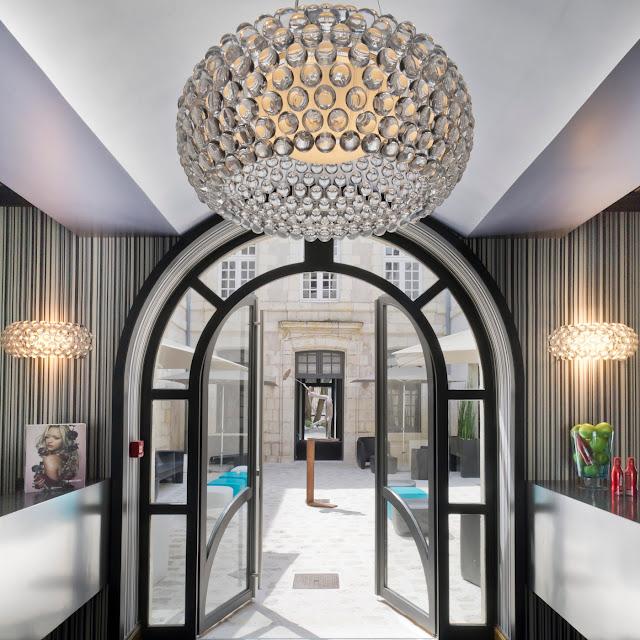 Eingangsbereich des La Monnaie Art & Spa Hotels