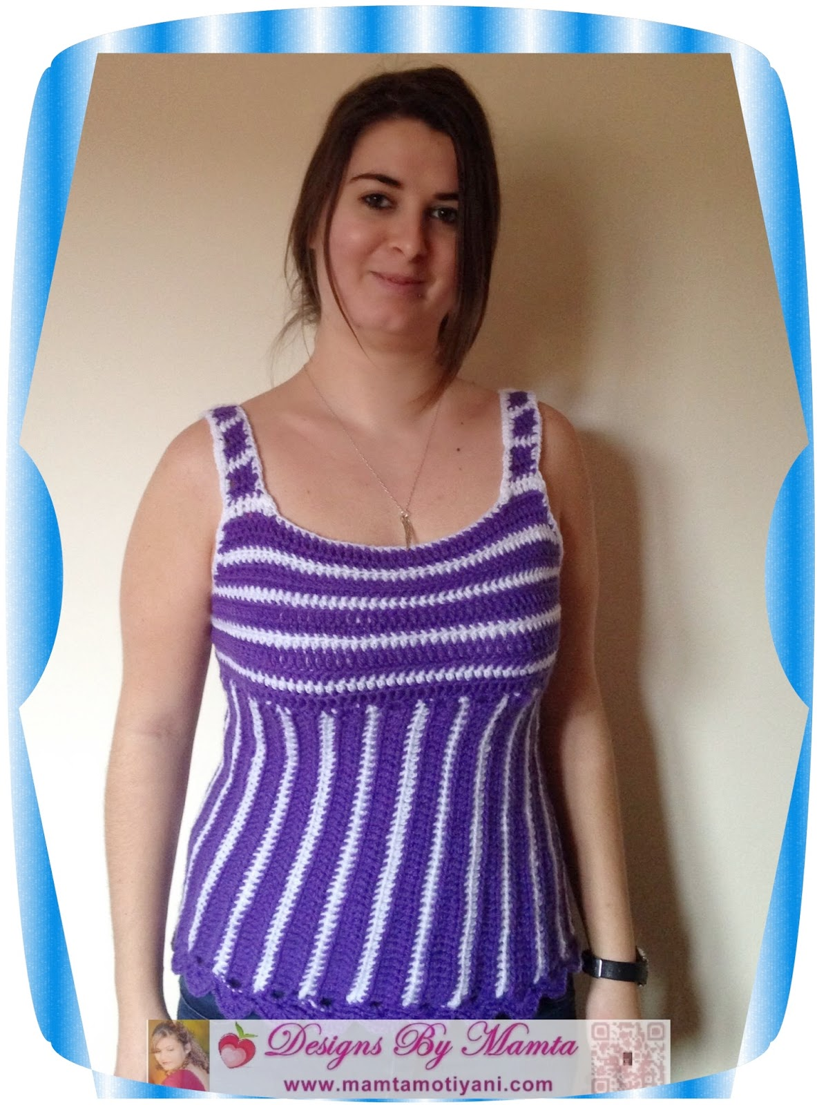 Crochet Tank Top Pattern