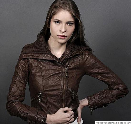 Indumentaria femenina, ropa de mujer Ona Saez. Camperas invierno 2012.