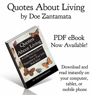 Quotes About Living eBook