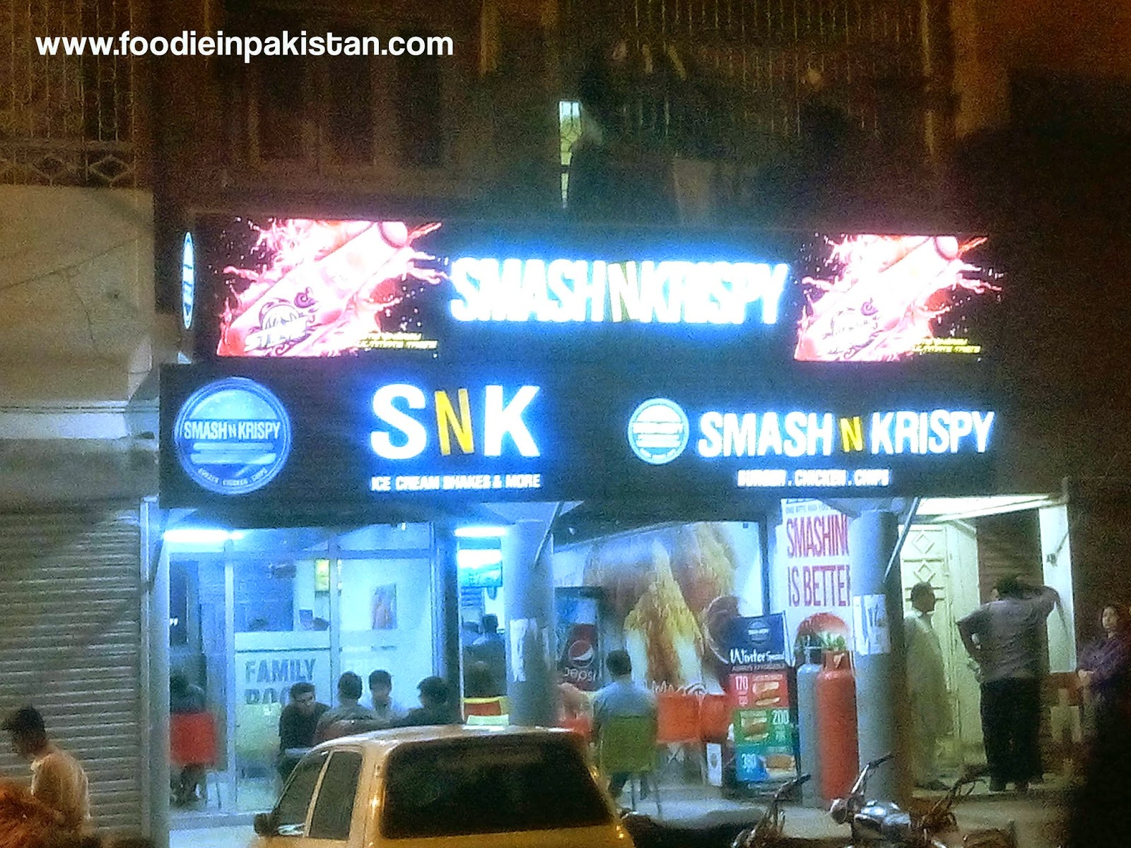 Smash n Krispy at Gulberg Karachi
