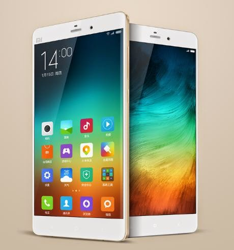 Xiaomi Announced Mi Note Pro, 5.7-inch 2K Display, Snapdragon 810, 4GB RAM