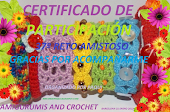 certificado amigurumis and crochet