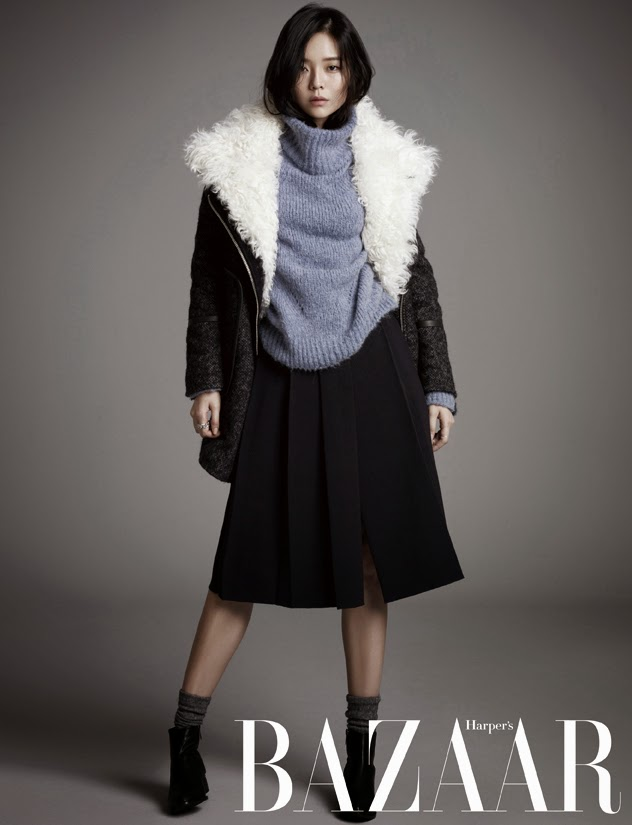 Lee Som - Harper's Bazaar Magazine November Issue 2014