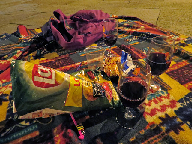 Wine picnic night