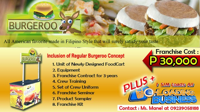 Foodcart For Franchise - A Buy 1 Take 1 Burger Food Concept Offered in the Philippines.
