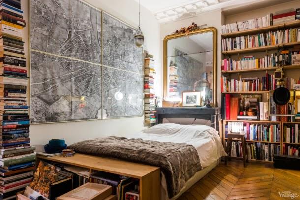 detalles dormitorio estudio en parís