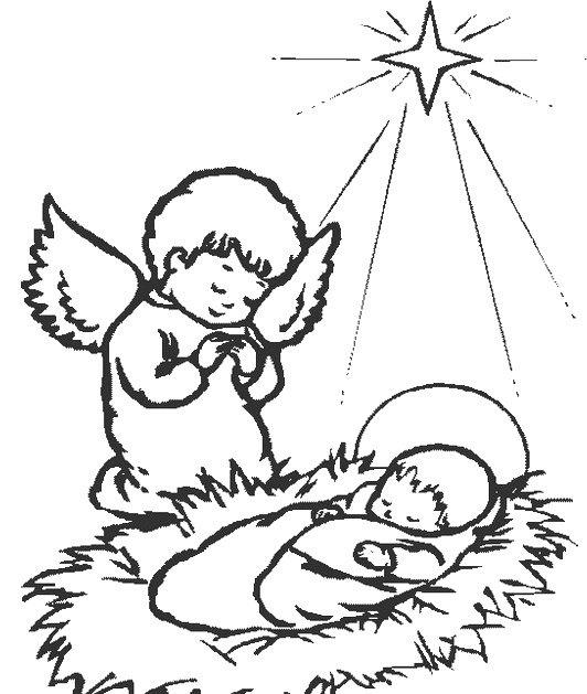 Imagenes de Jesus: para colorear gratis