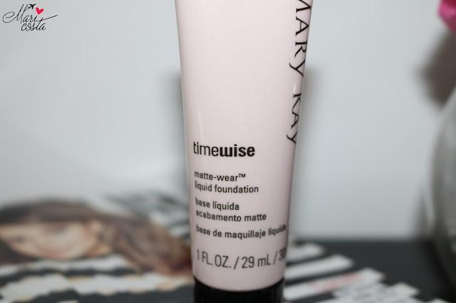 TimeWise efeito matte pele oleosa