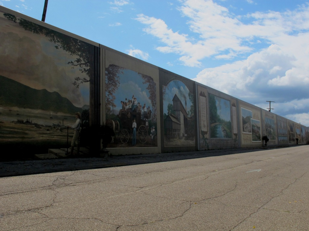 ... Short Day And Arrived In Portsmouth, OH Early Enough To Do The Tourist  Thing. Inside The Floodwall, Portsmouth Has The Best Series Of Murals Weu0027ve  Seen. Part 78