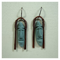 Easter Island Guy Earrings