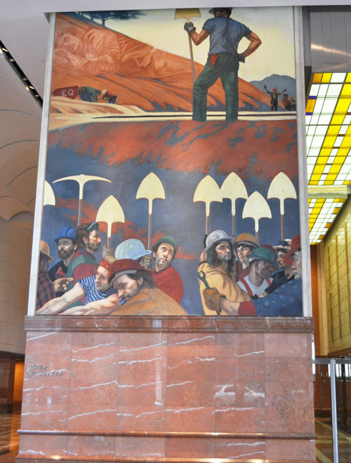 Pillar of enoch ministry blog the possible meaning of the for Corporate mural