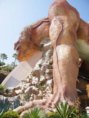 Dragón de Siam Park vista 4