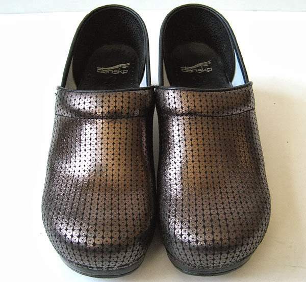 Good Closet Dansko Metallic Leather Professional Work