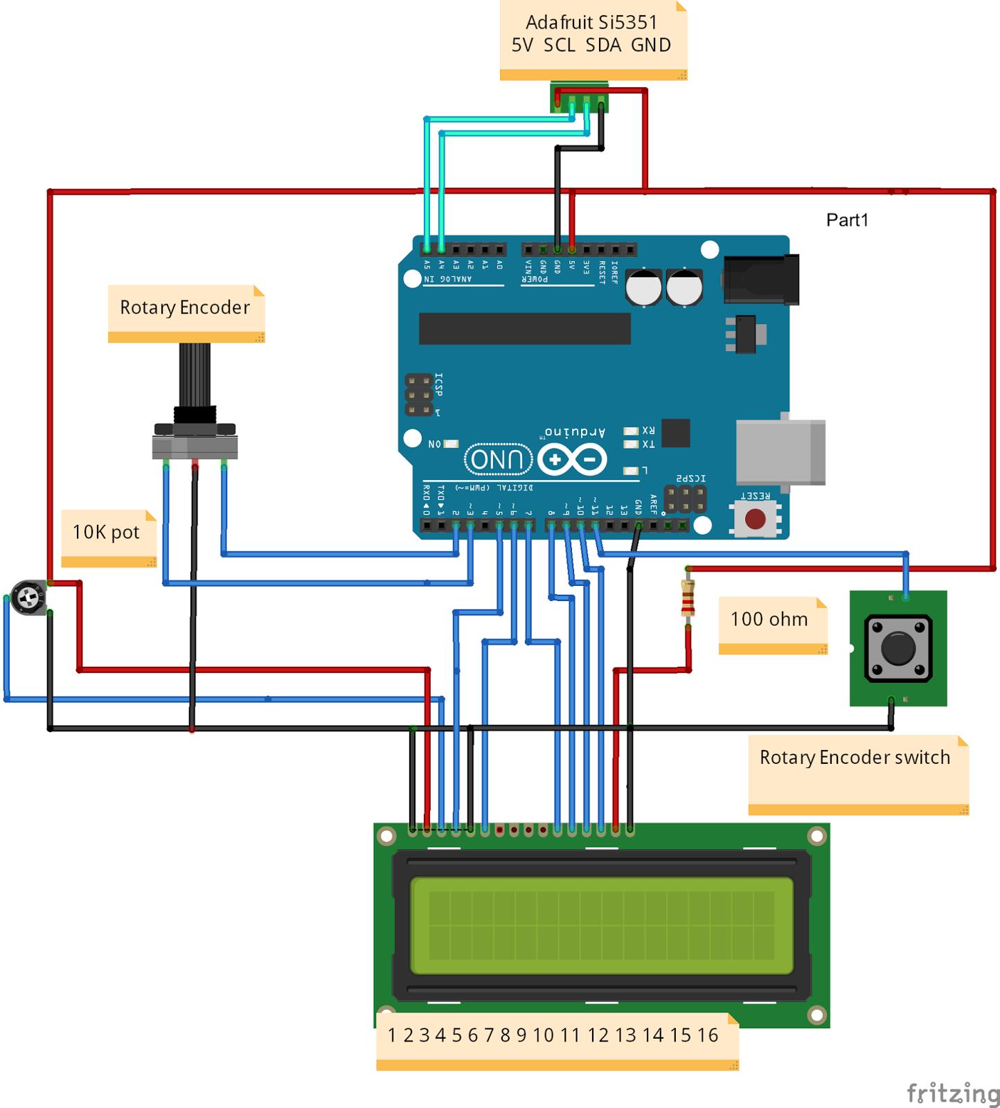 BITX – AK2B WIRING USING A ROTARY ENCODER – Tech Blog!
