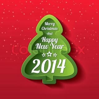 Thiệp chúc mừng năm mới 2014
