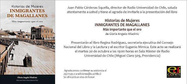 """Lanzamiento libro """"Historias de Mujeres Inmigrantes de Magallanes.  Más importante que el oro"""""""