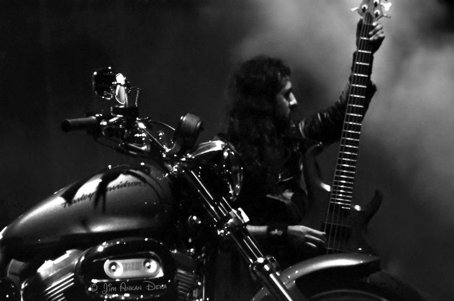 Kryptos at Harley Rock Riders III, Bangalore - Jim Ankan photography