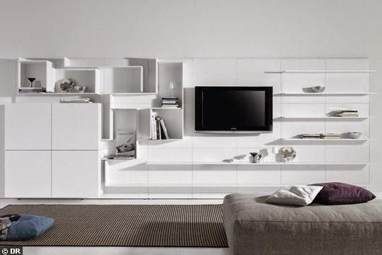 Meuble TV Avec Rangement Chambre