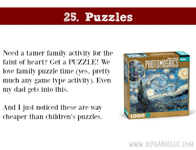 Holiday Gift Idea for Adults: Puzzle