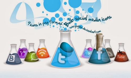 Bulb Social Media Iconsk
