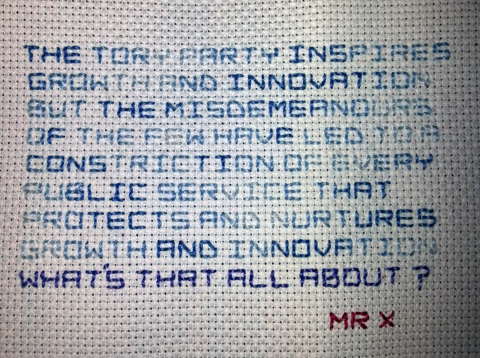 Le Challenge More Inspiration From Mr X Stitch