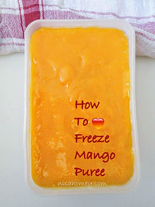 How To Freeze Mango Puree
