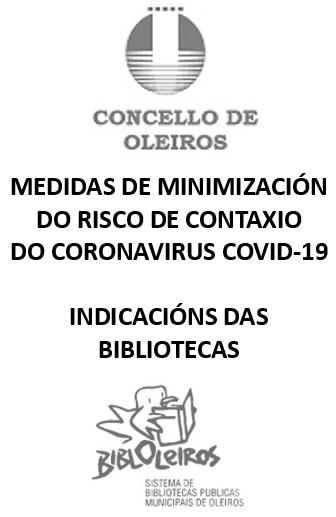 Medidas para minimizar o risco de contaxio do coronavirus Covid-19