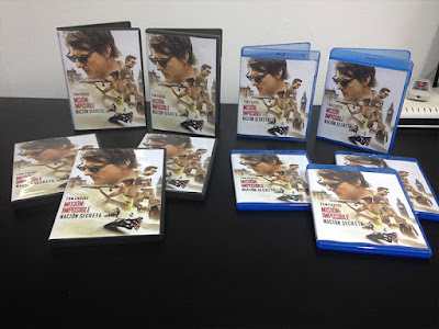 Evento con motivo del lanzamiento en DVD y Blu-ray de 'Misión: Imposible - Nación secreta'