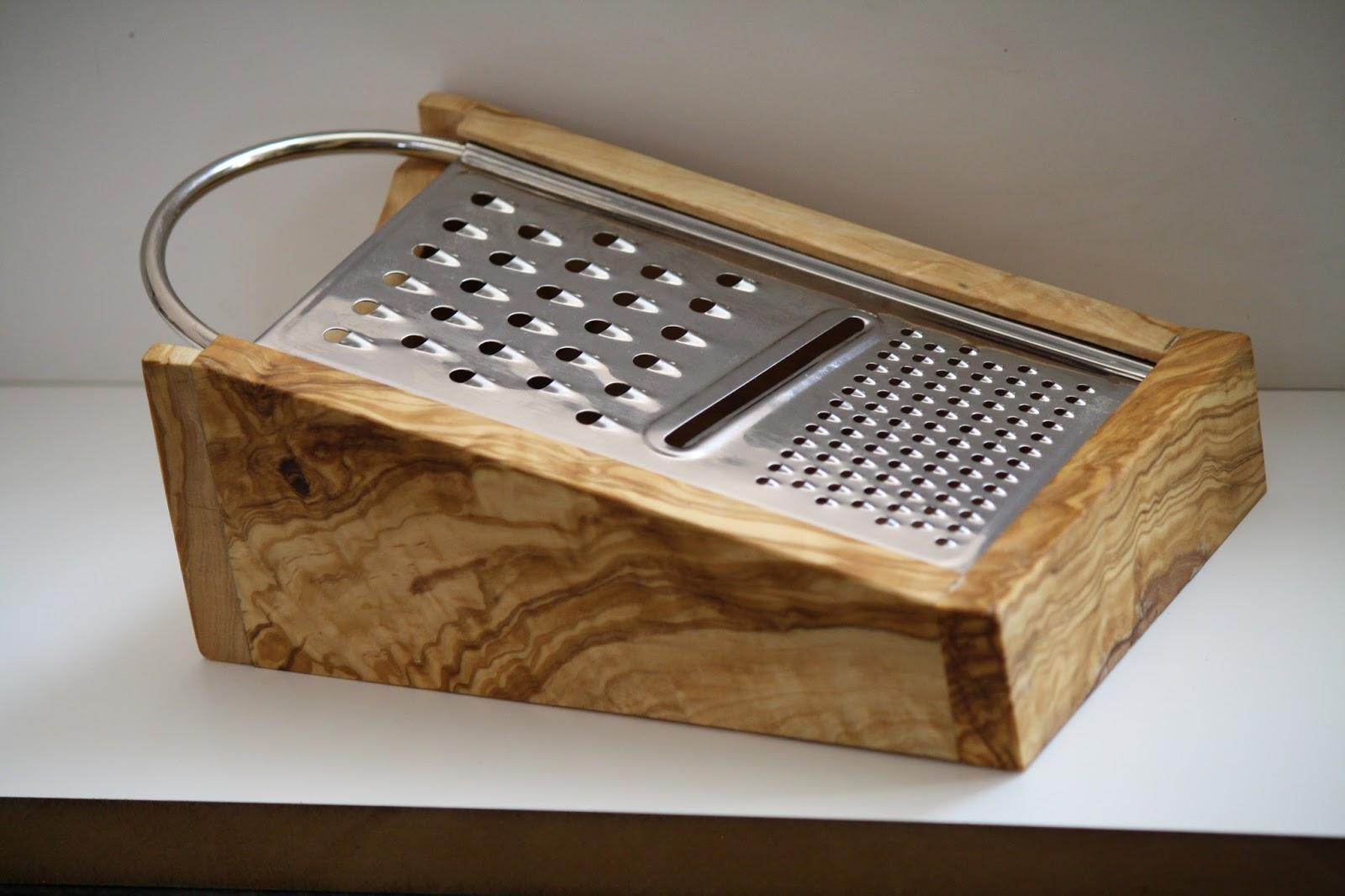 Artesania en madera de olivo utensilios de cocina 1 for Utensilios cocina