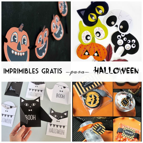 Imprimibles gratis para tu fiesta de Halloween