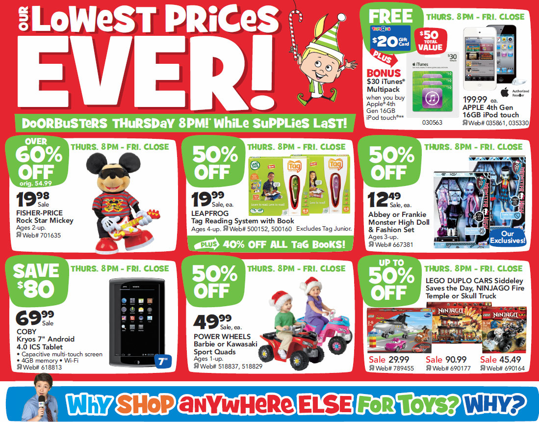 "Toys R Us Prices : Barbara s beat toys""r us to kick off black friday at pm"