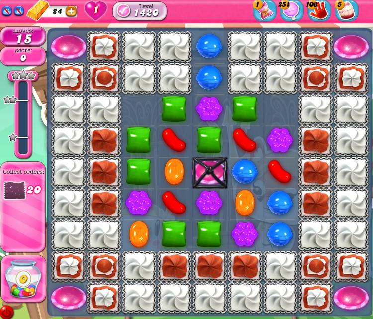 Candy Crush Saga 1420