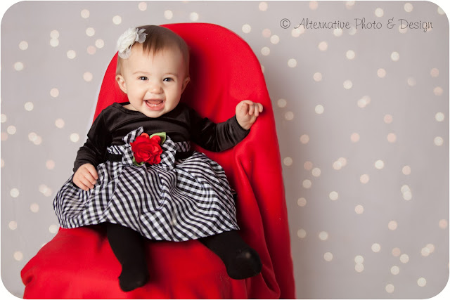 Sweet K is 1 Year | Baby Photographer Janesville, WI