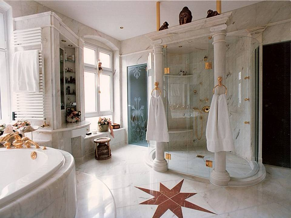 Bathroom marbel luxury bathroom - Luxury bathroom ...