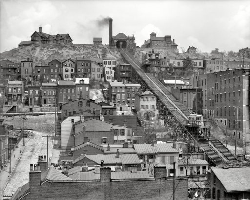 The Old Northwest Notebook Cincinnatis Streetcar escalator