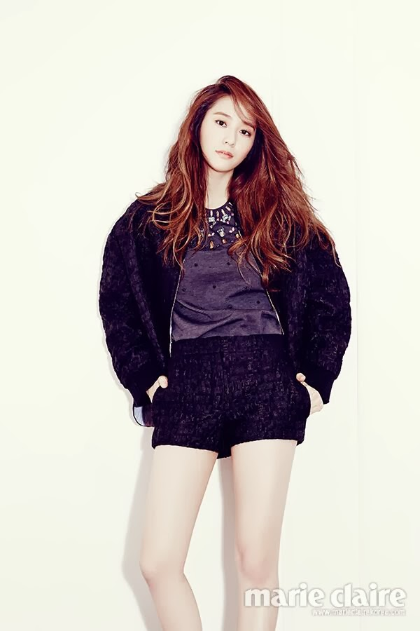 Krystal Jung - Marie Claire December 2013 | Beautiful ... F(x) Krystal 2013