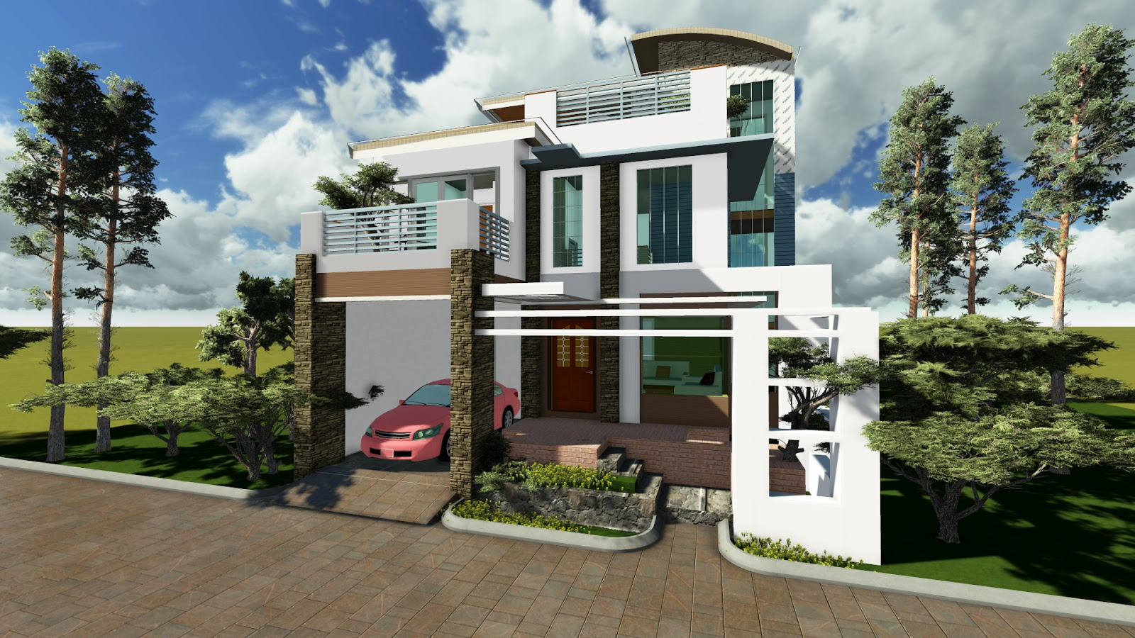 Philippines house design and house on pinterest for Home designs philippines