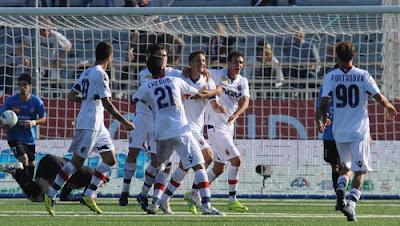 Novara Bologna 0-2 highlights sky