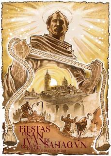 Cartel de las Fiestas de San Juan de Sahagún 2012