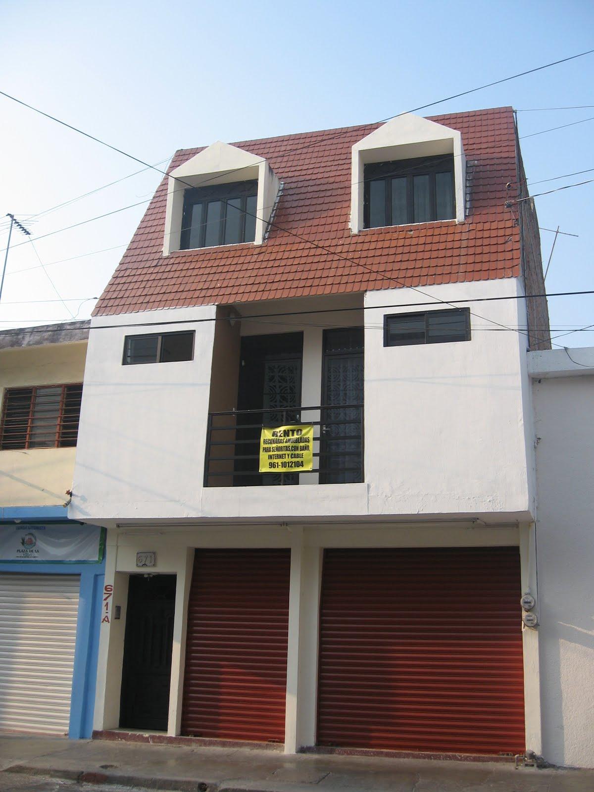 Renta cuartos amueblados en Tuxtla Gutiérrez